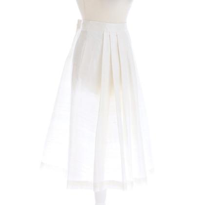 Armani Collezioni Crème wit zijde rok