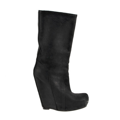 Rick Owens Boots with wedge heel