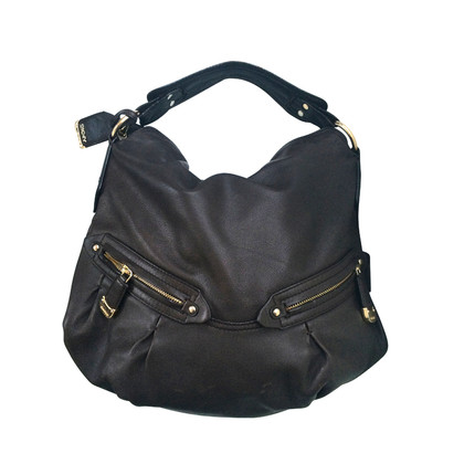 DKNY Borsa Hobo grande in marrone scuro