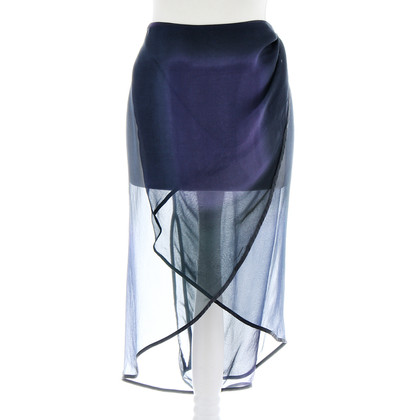 Haider Ackermann Iridescent wrap skirt