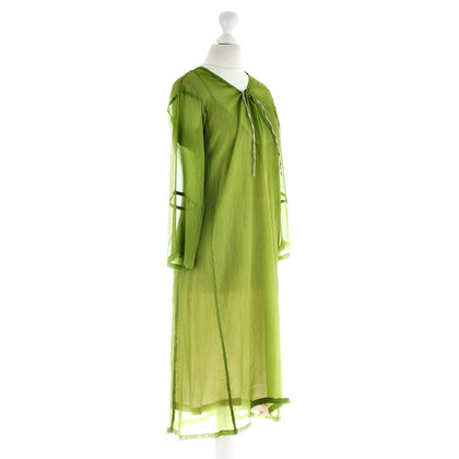 Dries van Noten Abito in Kelly green