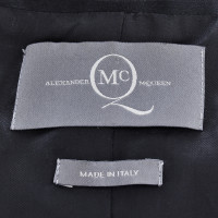 Alexander McQueen Short jacket with stand-up collar