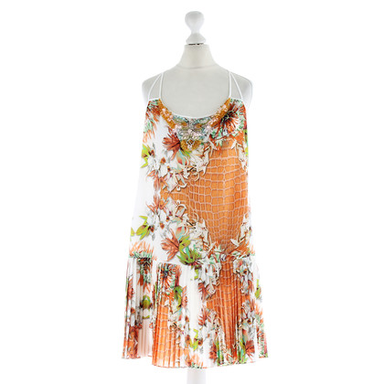 Just Cavalli Patterned dress with beads