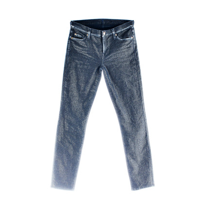 7 For All Mankind Jeans het mager goud