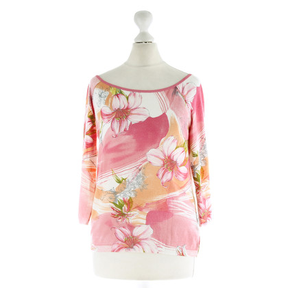 Blumarine Top with floral motif