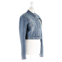Marc Cain Short jeans jacket with Ribbon