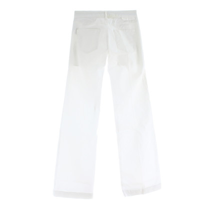 Stella McCartney White jeans flared leg