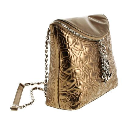 DKNY Bronzefarbene Tasche