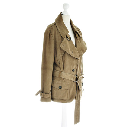 René Lezard Trenchjacke leather