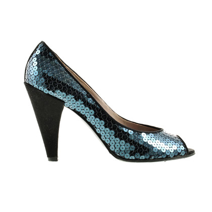 Marc by Marc Jacobs Sequin Peeptoe pumps