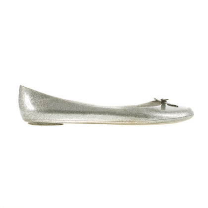 Marc by Marc Jacobs Jelly flats in silver