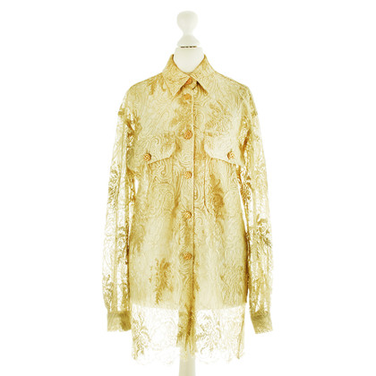 Bogner Spitzenbluse in Gold