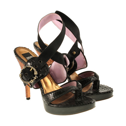 Ferre Sandals with Rhinestone