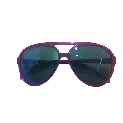 Dolce & Gabbana Purple Aviator sunglasses
