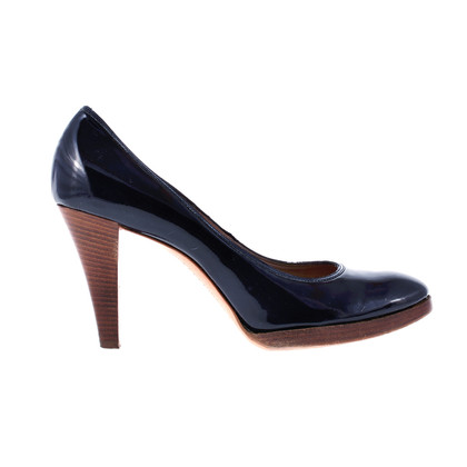 Costume National pumps blu scuro