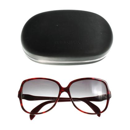 Giorgio Armani Melierte Sonnenbrille
