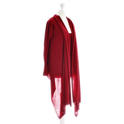 DKNY Knit Plaid top