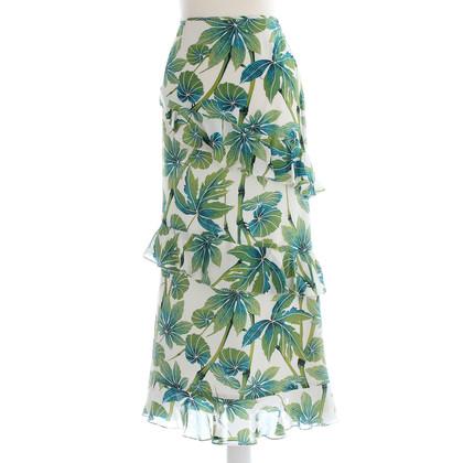 Karen Millen Flounce skirt with flower pattern