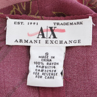 Armani Top with flower pattern