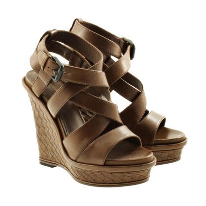 Bottega Veneta Wedges in braided screen optics