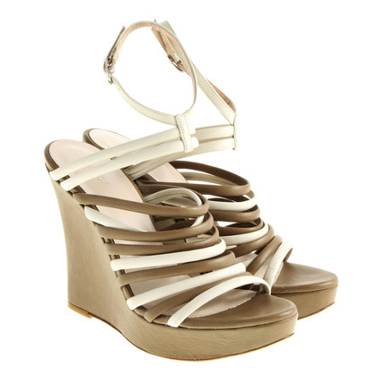 Escada Riemchen Wedges