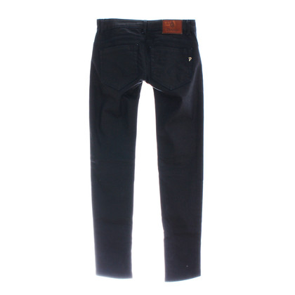 Dondup Coated Midnight blue of jeans