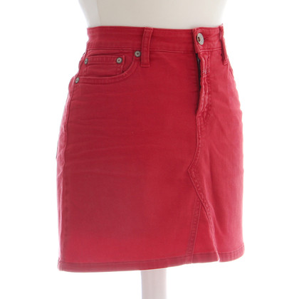 Closed Red jeans skirt