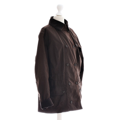 Barbour Veste cire marron