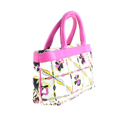 Emilio Pucci Small bag with flower pattern