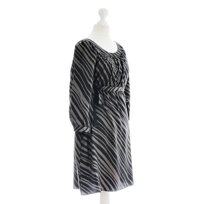 Ella Moss Striped silk dress