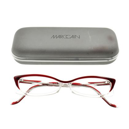 Marc Cain Brillengestell transparent und rot