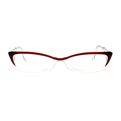 Marc Cain Eyeglass frame transparent and Red