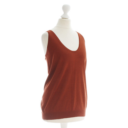 Bottega Veneta Top in rust brown