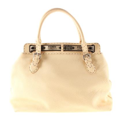 "Fendi Handbag ""Selleria"" champagne"
