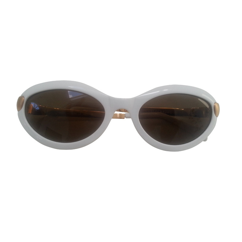 JC de Castelbajac Vintage sunglasses in white