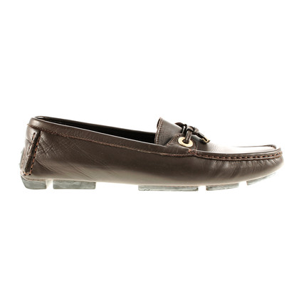Bally Pantofola in pelle marrone