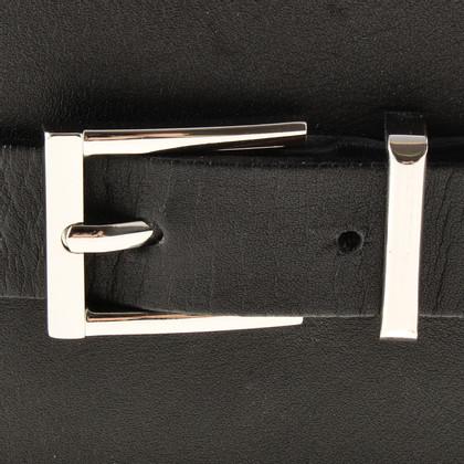 Barbara Bui Wide belt with rivets