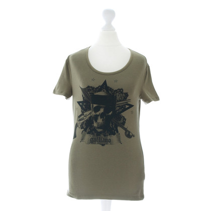John Galliano T-Shirt with skull print