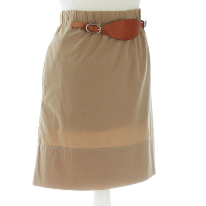 Céline Skirt with leather ties