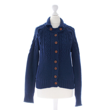 3.1 Phillip Lim Blaue Strickjacke