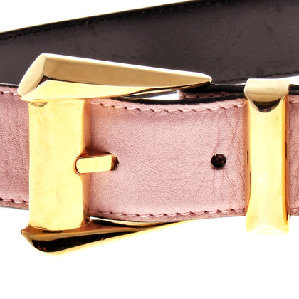 Gianni Versace Pink belt