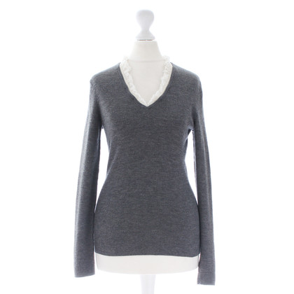 Rena Lange Sweater with ruffle collar