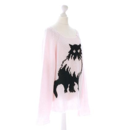 Wildfox Pullover mit Katzen Motiv