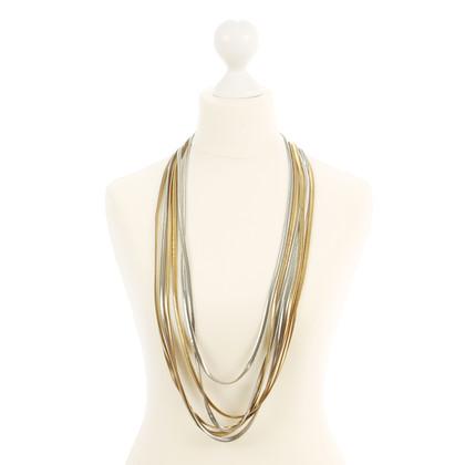 Yves Saint Laurent Six-ply vintage necklace