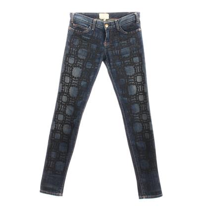 "Current Elliott Jeans ""The Pearl Print Skinny"""