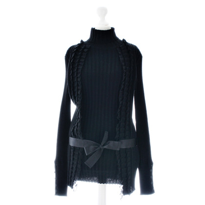 Roberto Cavalli Sweater with ruffle bar