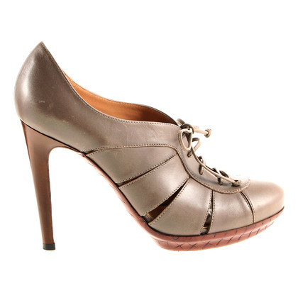 Bottega Veneta Ankle-Pumps in Taupe