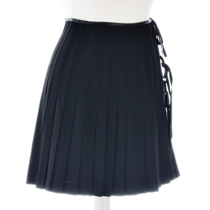 Plein Sud Black wrap skirt