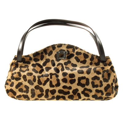 untzer bag with fur and leo muster - Leo Muster