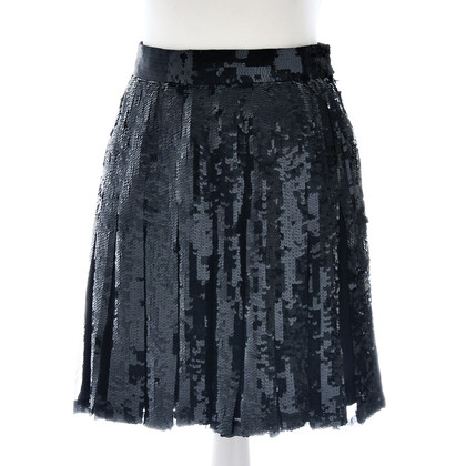 Ella Singh Pleated skirt with sequins